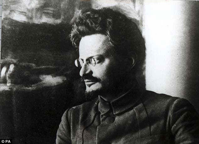 Лев Троцкий революционер в молодости