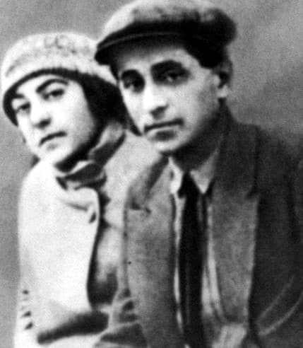 Михаил Зощенко с женой Верой