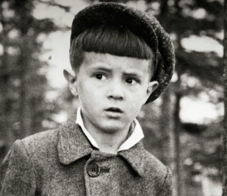 Юрий Шевчук в детстве