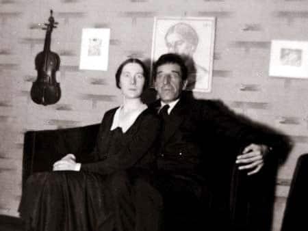 Игорь Северянин с женой