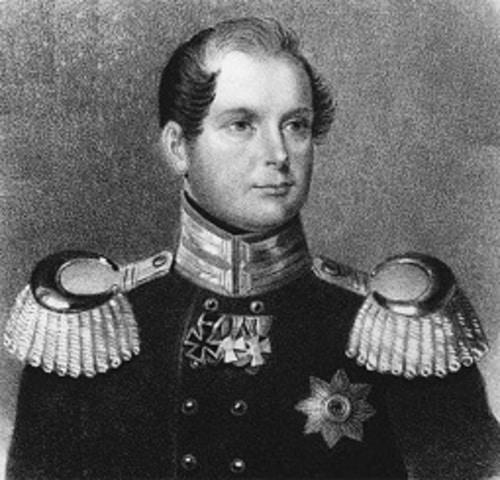 Отто фон Бисмарк в начале военной карьеры