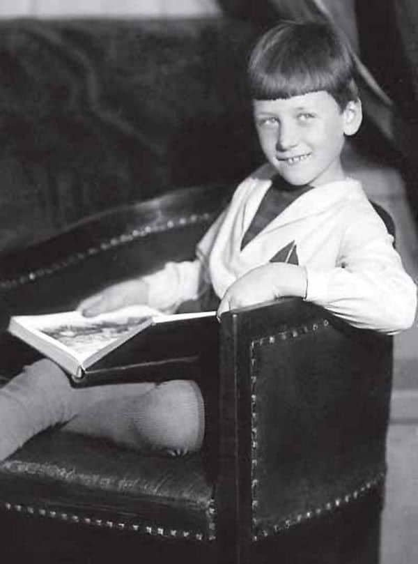 Родион Щедрин в детстве