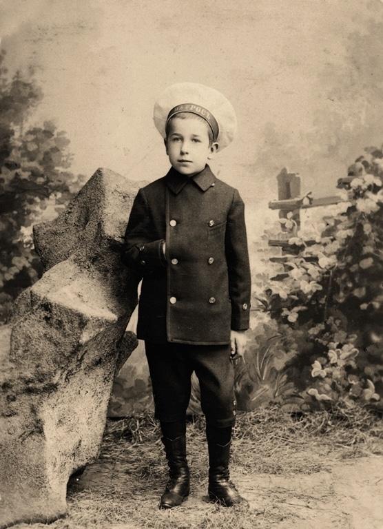 Игорь Северянин в детстве