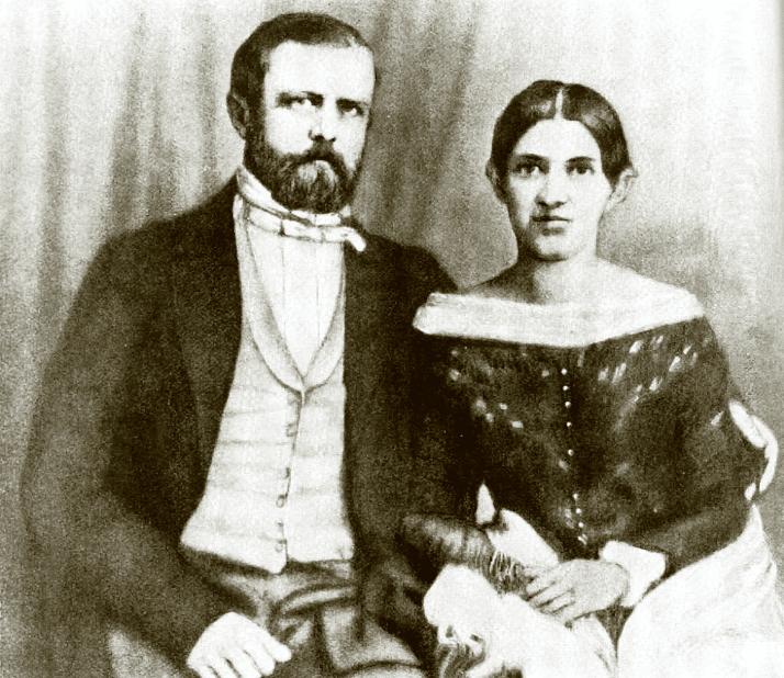 Отто фон Бисмарк с женой