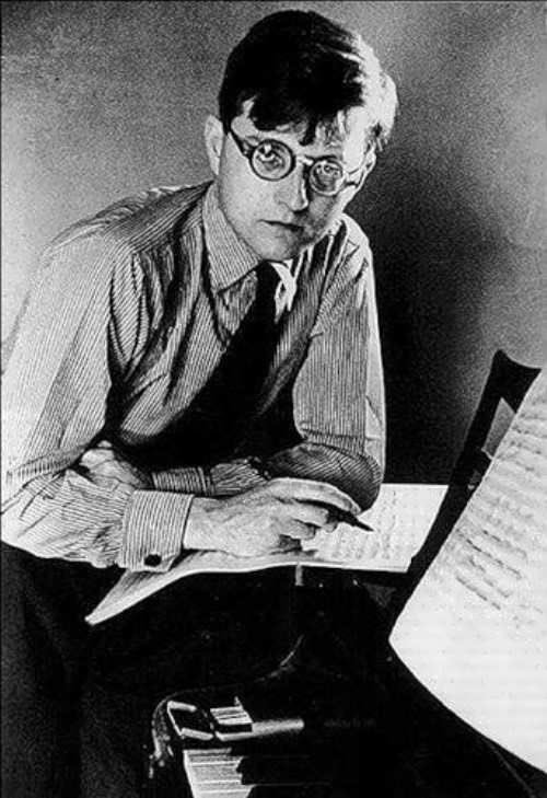 Дмитрий Шостакович в юности