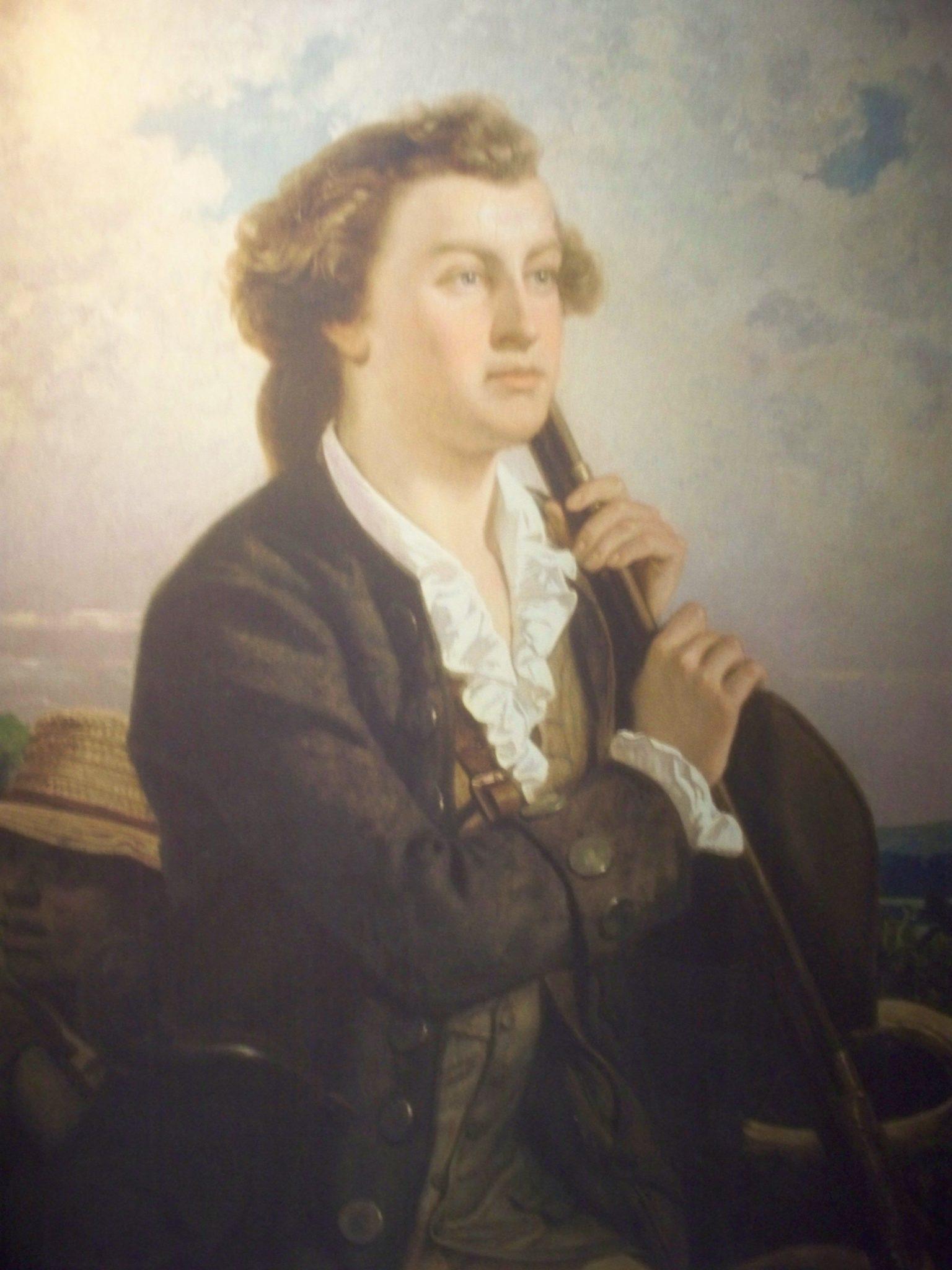 Портрет Джорджа Вашингтона в юности