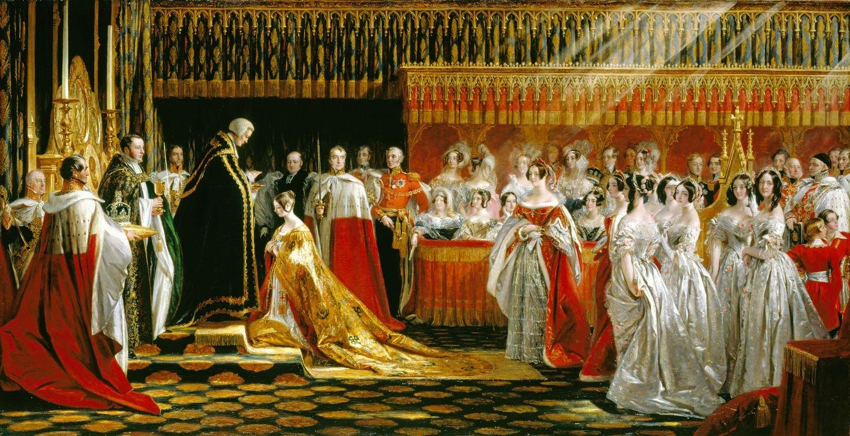 Коронация королевы Виктории