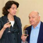 Михаил Жванецкий с женой Натальей