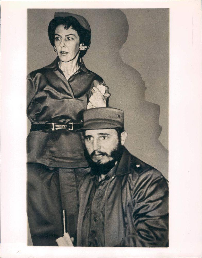 Фидель Кастро и Селия Санчес
