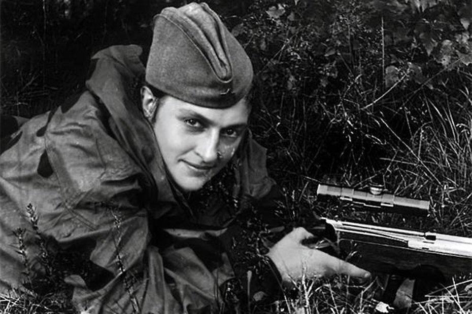 Людмила Павличенко на войне