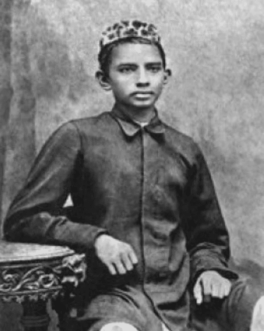Махатма Ганди в детстве