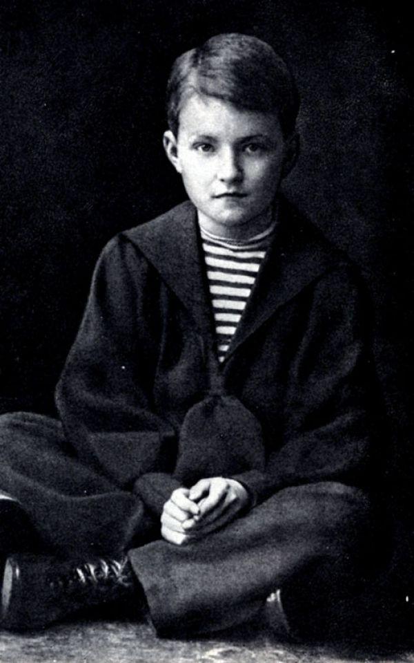 Дмитрий Шостакович в детстве