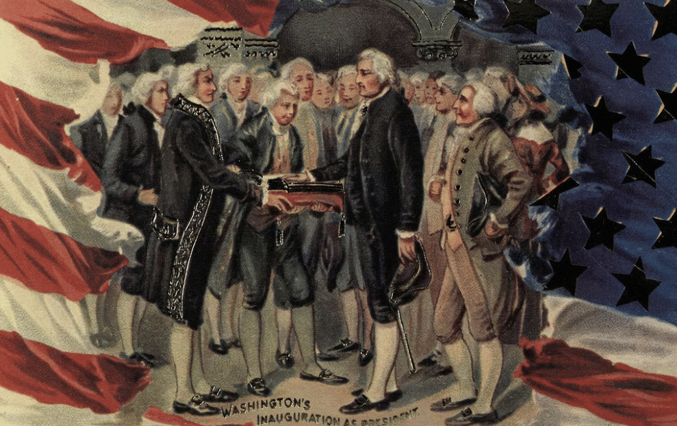 Пнагурация Джорджа Вашингтона