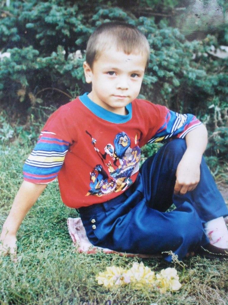 Элвин Грей в детстве