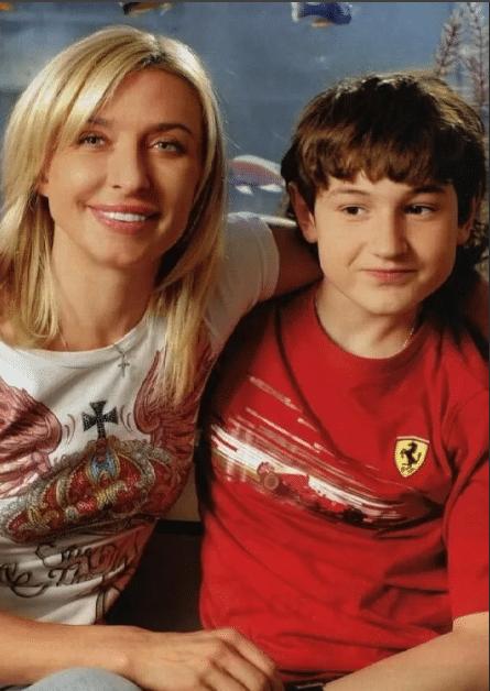Татьяна Овсиенко с сыном