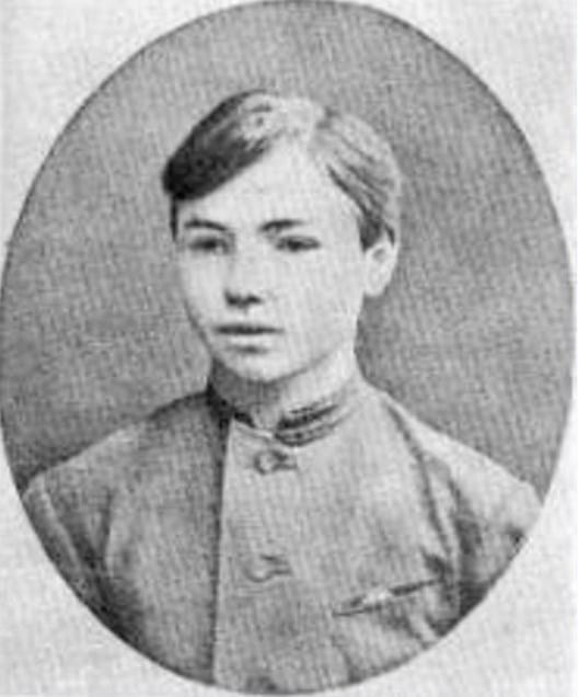 Валерий Брюсов в детстве