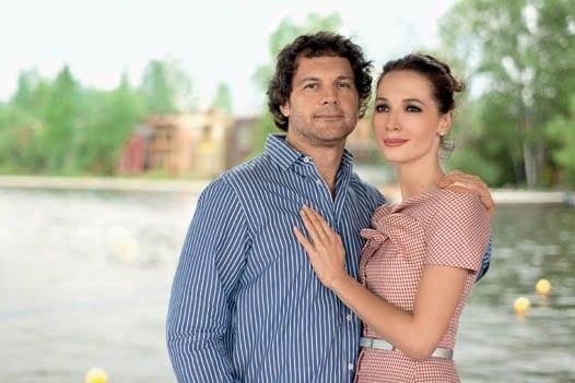 Дарья Златопольская с Леонидом Спиридоновым