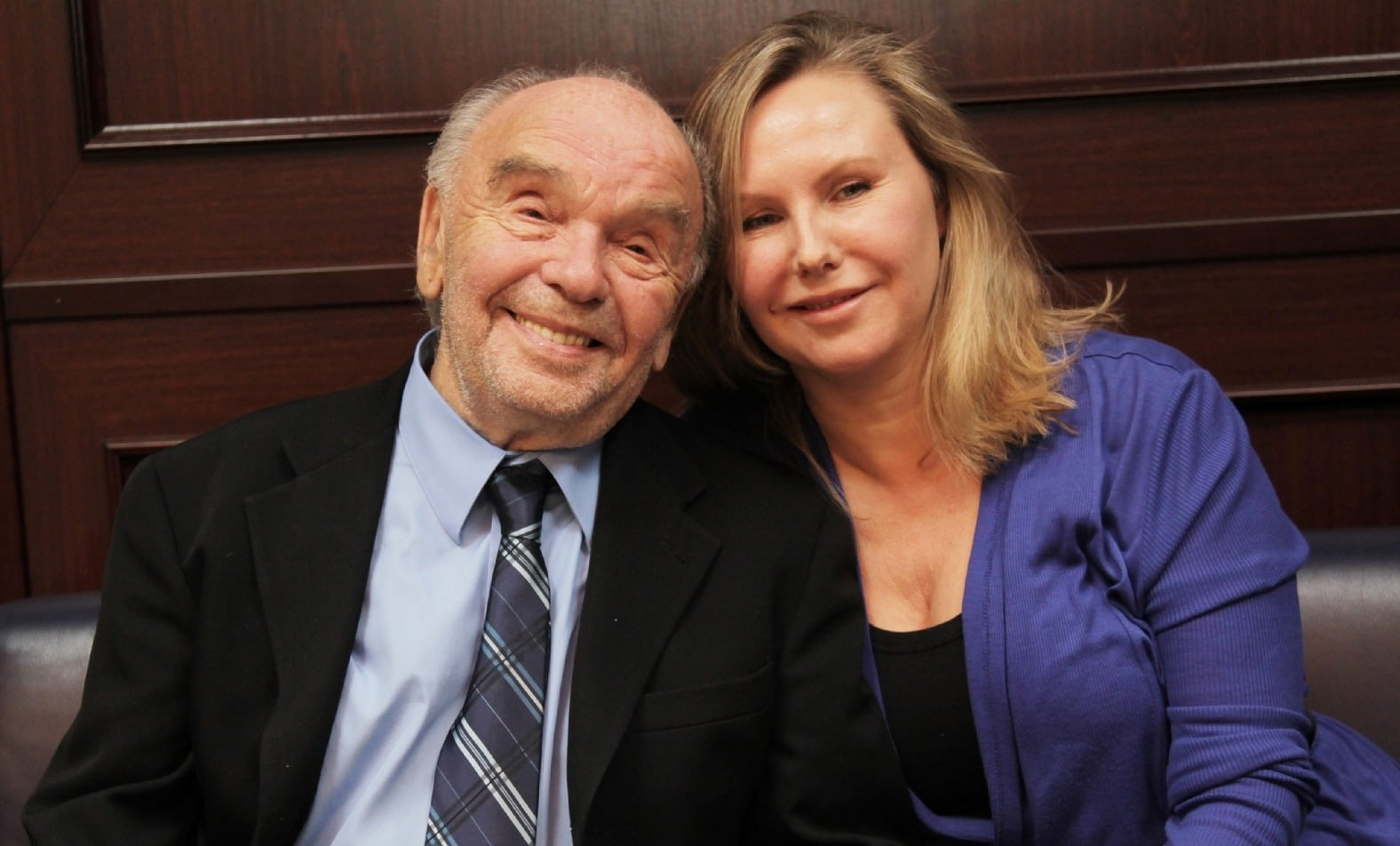 Владимир Шаинский с женой