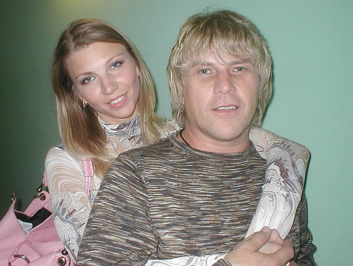 Алексей Глызин с женой