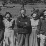 Лев Троцкий с семьей