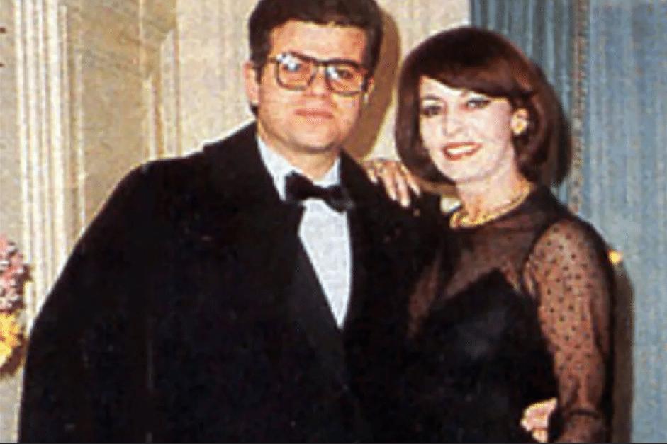 Мишель Мерсье с Адрианом Янко