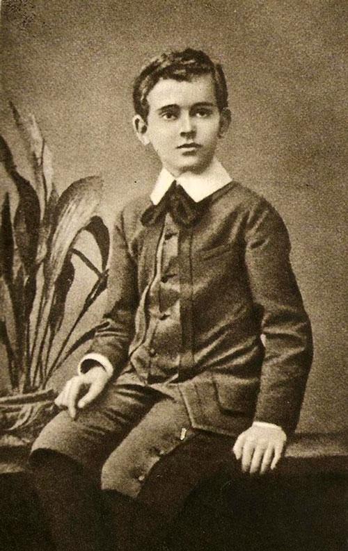 Януш Корчак в детстве