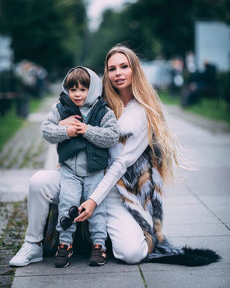 Сын и бывшая жена Стаса Пьехи Наталья Горчакова