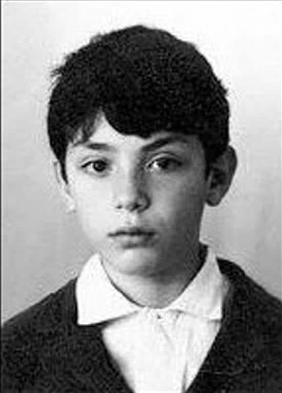Борис Немцов в детстве