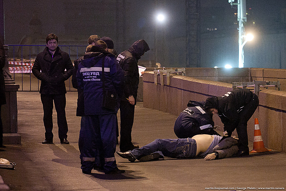 Убийство Бориса Немцова на мосту