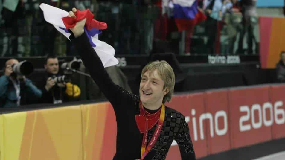 Евгений Плющенко на Олимпиаде 2006 года