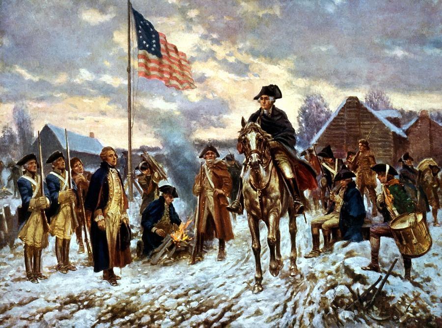 Джордж Вашингтон на войне за независимость
