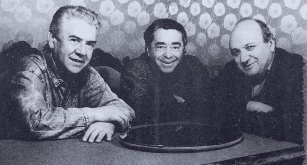 Михаил Жванецкий с Романом Карцевым