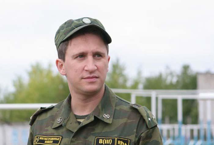 Оскар Кучера в сериале «Солдаты»