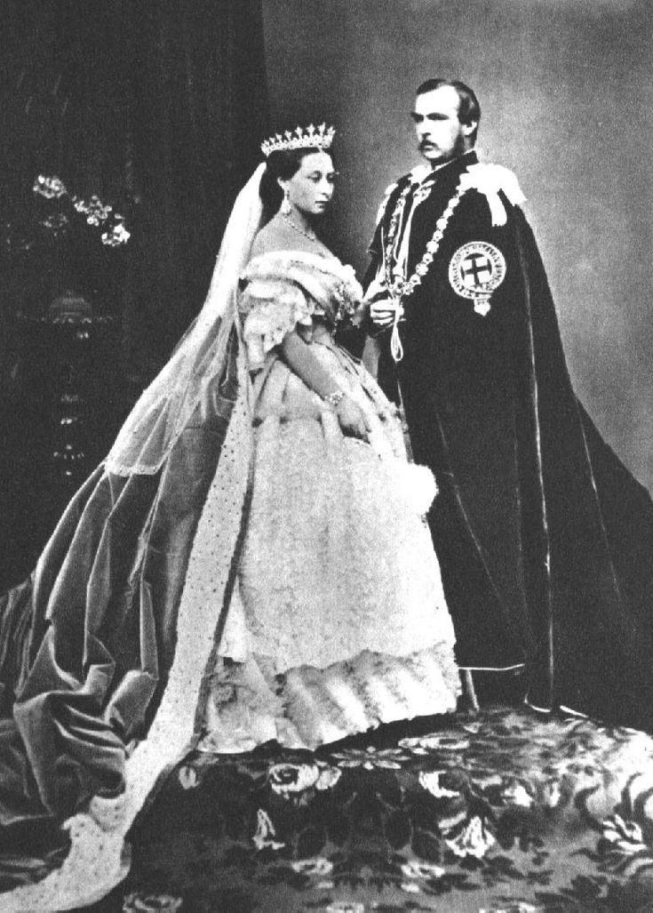 Королева Виктория с мужем Альбертом