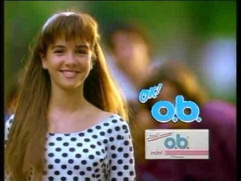 Наталия Орейро В 12 лет в рекламе