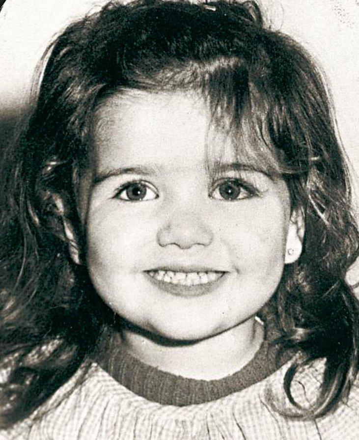 Наталия Орейро в детстве