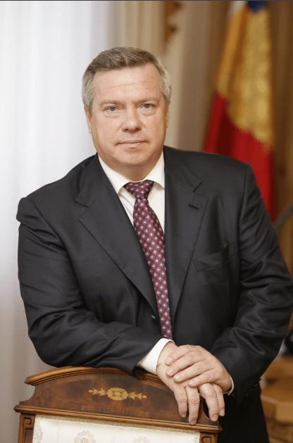 Василий Голубев на посту Губернатора Ростовской области