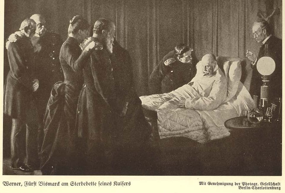 Отто фон Бисмарк на смертном одре