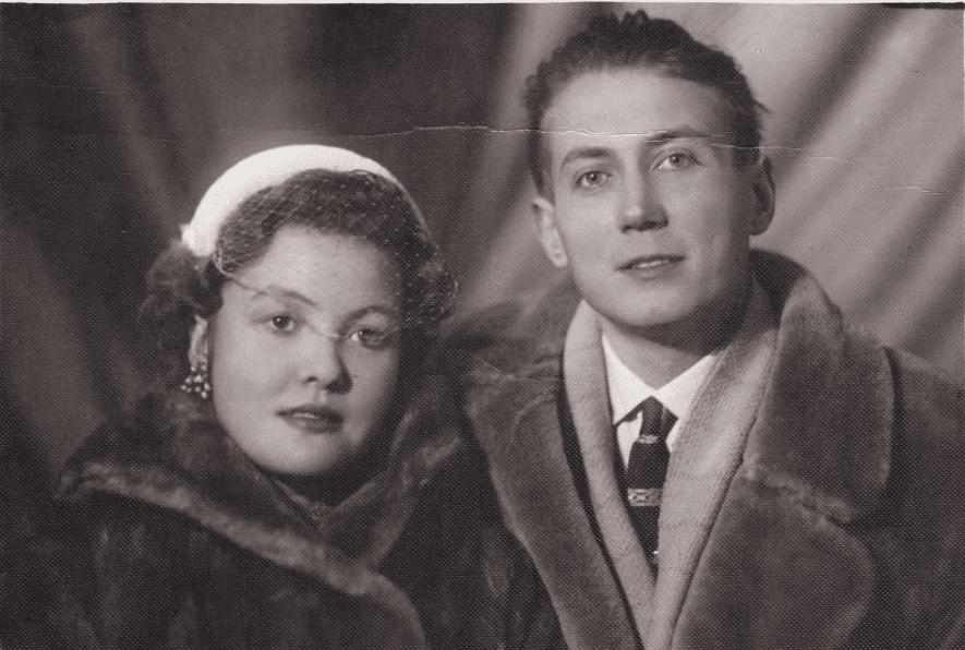 Евгений Евтушенко и Белла Ахмадулина
