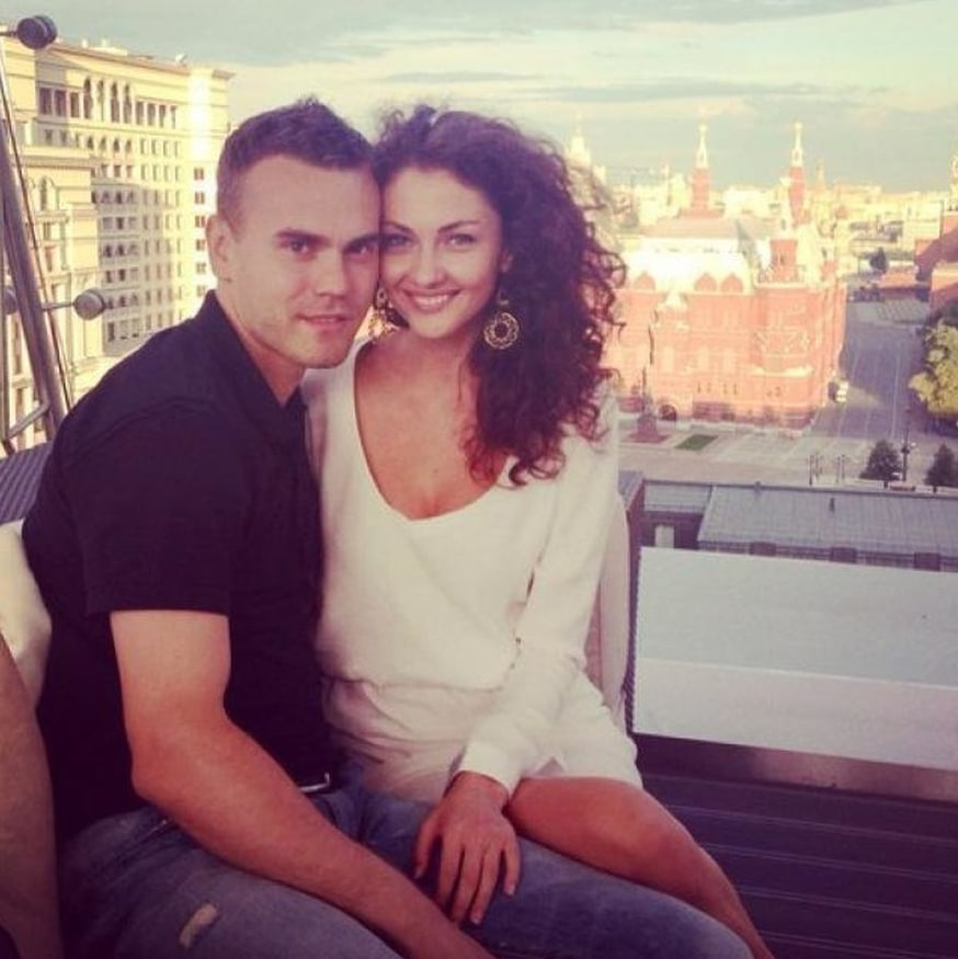 Игорь Акинфеев и Екатерина Герун