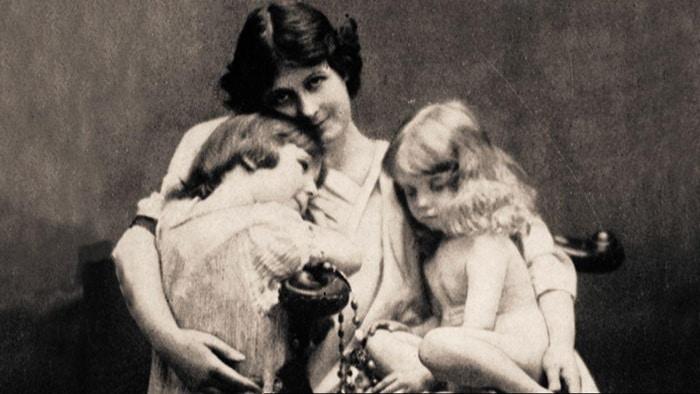 Айседора Дункан с детьми
