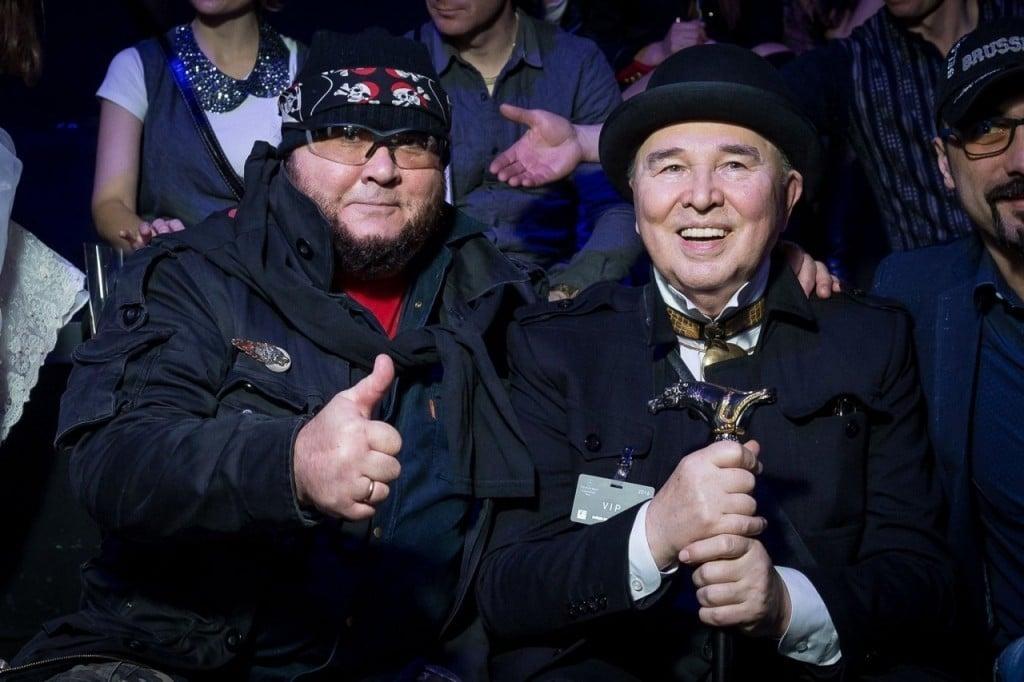 Вячеслав Зайцев с сыном Егором
