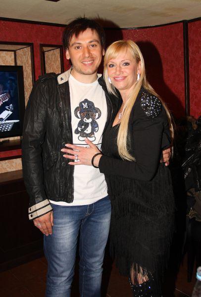 Наталья Гулькина с Сергеем Мандриком