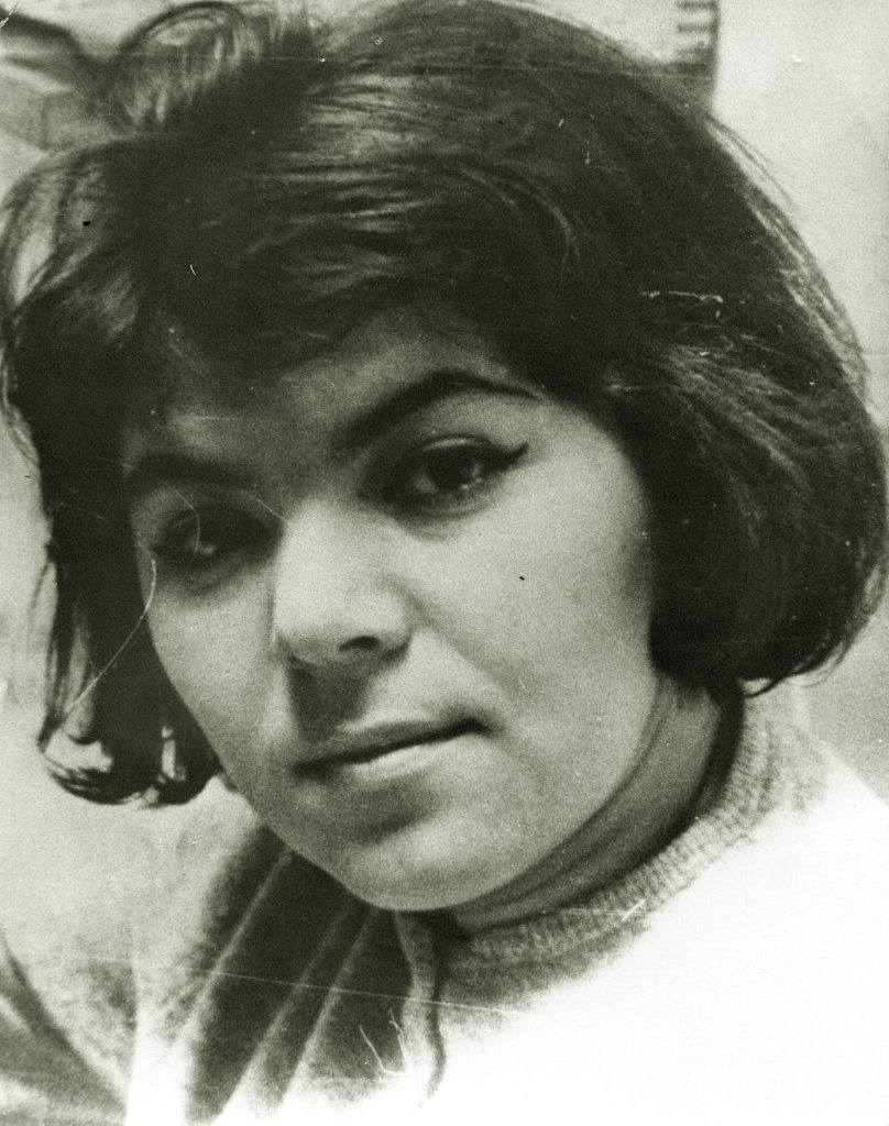Майя Кристалинская в молодости