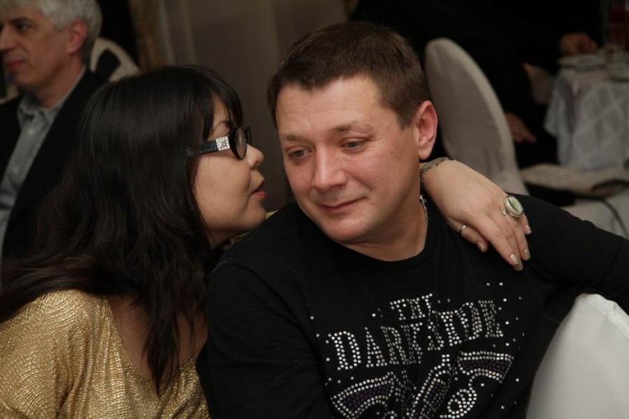 Ян Цапник с женой Галиной
