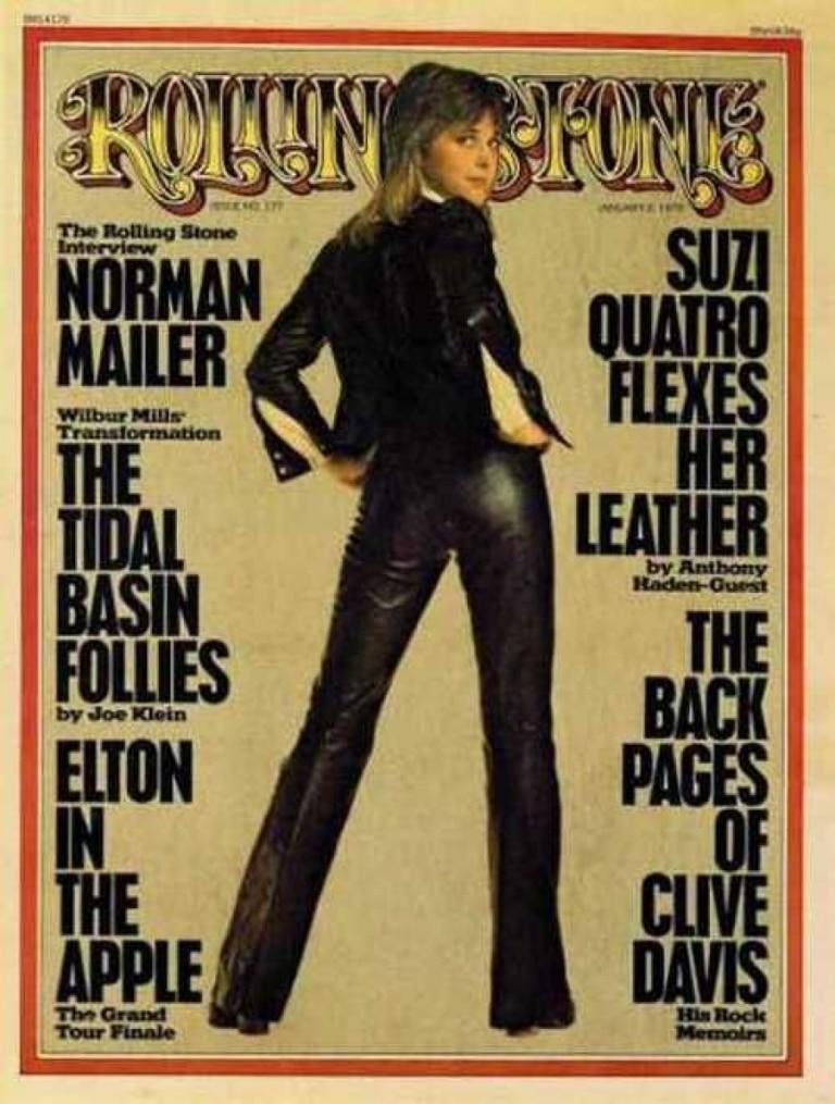Сьюзи Кватро в «Rolling Stone»