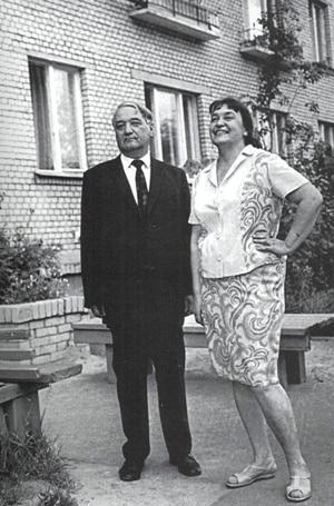 Лев Гумилев с Натальей Симоновской