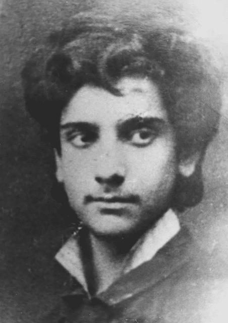 Исаак Левитан в юности