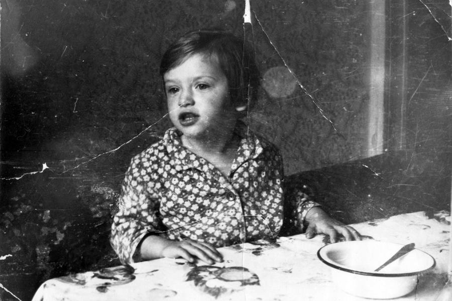 Наталья Гулькина в детстве