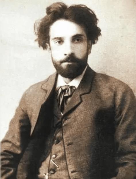 Исаак Левитан в молодости